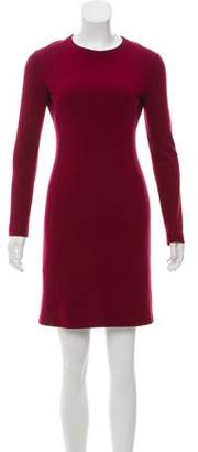 Calvin Klein Collection Long Sleeve Mini Dress
