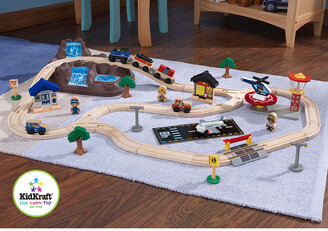 Kid Kraft Bucket Top Mountain Train Set