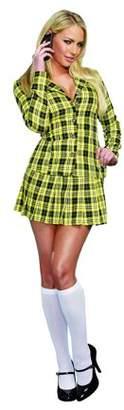 Dreamgirl Women's Fancy Girl Skirt Suit