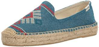 Soludos Women's Yucatan Smoking Slipper Flat