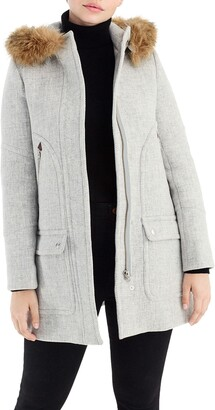 J.Crew Chateau Stadium Cloth Parka