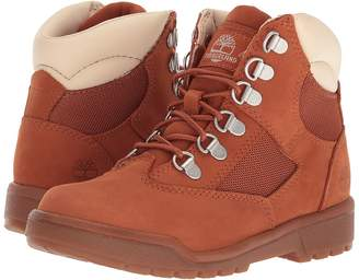 Timberland Kids 6'' Leather/Fabric Field Boot Kids Shoes