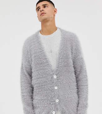 Noak drop shoulder cardi in premium yarn