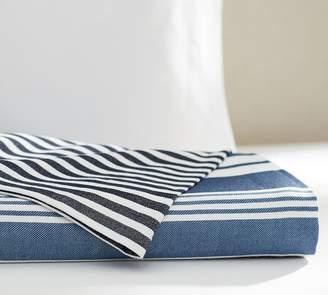 Pottery Barn Seaside Stripe Blanket