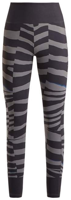 Train Miracle tiger stripe-print leggings