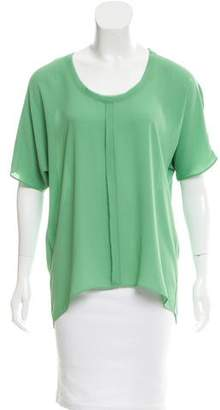 Tahari Oversize Short Sleeve Top $70 thestylecure.com