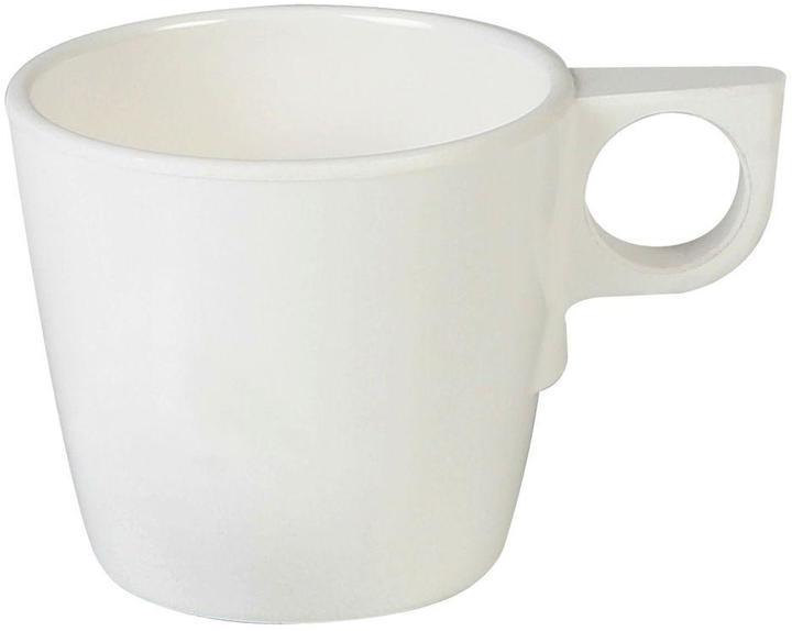 Restaurant Essentials Coleur 7 oz. , 3-1/4 in. Stacking Cup in Ivory (12-Piece)