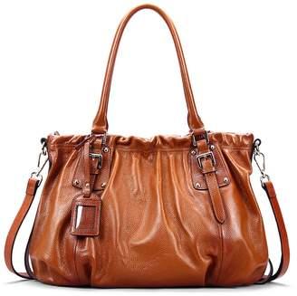 d65867982dc at Amazon Canada · AINIMOER New Fashion Lady Soft Cowhide Leather Vintage Shoulder  Bag Handbag Tote Top-handle Purse