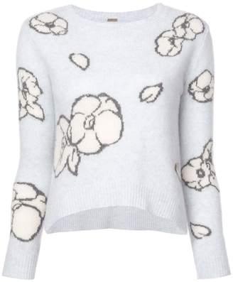 ADAM by Adam Lippes floral-intarsia sweater