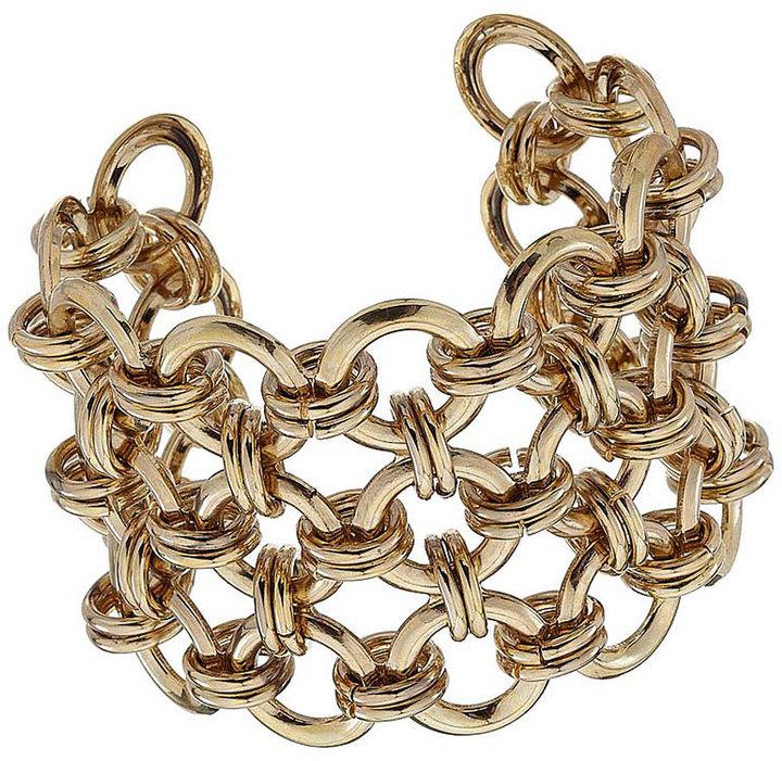 Circles Link Cuff