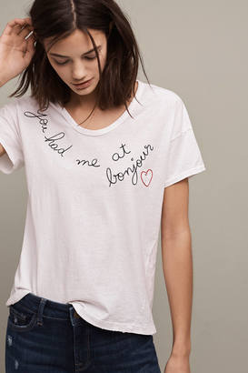 Sundry You Had Me At Bonjour Tee $68 thestylecure.com