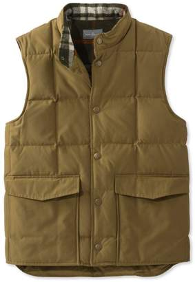 L.L. Bean L.L.Bean Signature Quilted Vest, Wool-Lined
