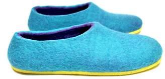 Felt Forma Island Paradise Women's Organic Wool Slippers