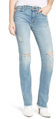 7 For All Mankind Dylan Ripped Straight Leg Jeans