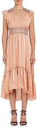 Ulla Johnson Women's Agatha Silk Midi-Dress