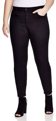 NYDJ Plus Alina Legging Jeans in Black