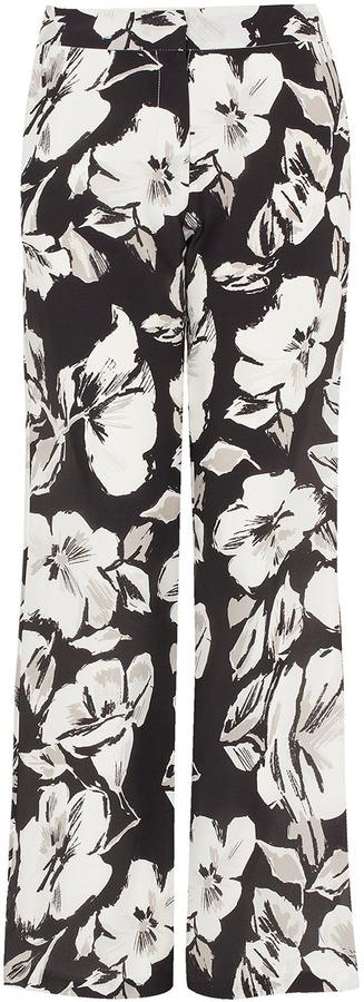 Topshop **Silk Flower Trousers by Unique