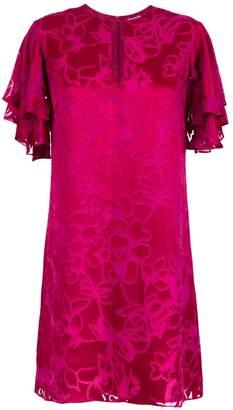Tufi Duek silk shift dress