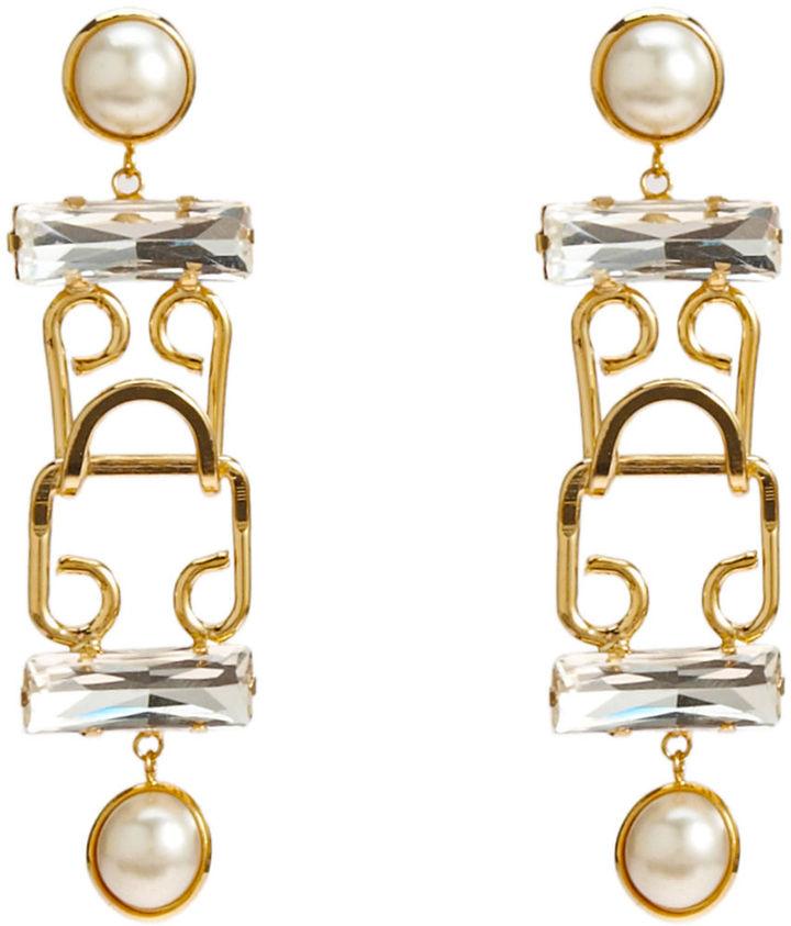 Fallon Pearl Social Security Earrings