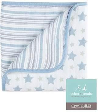 Aden Anais (エイデン アネイ) - aden + anais (エイデンアンドアネイ) 【日本正規品】 モスリンコットン ミニ・ドリーム・ブランケット prince charming mini dream blanket 6086