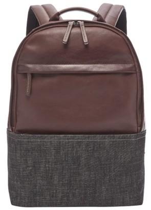 Fossil Kenton Backpack Bag Brown Multi