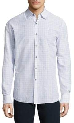 Vilebrequin Jacquard Cotton Shirt