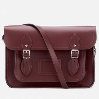 The Cambridge Satchel Company Women's 13 Inch Magnetic Satchel - Oxblood