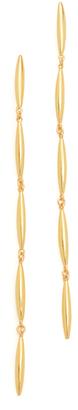 Gorjana Emma Drop Earrings $60 thestylecure.com