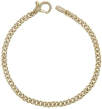 Shay Baby Pave Diamond Link Bracelet - Yellow Gold