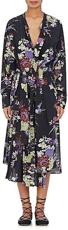 Isabel Marant Women's Iam Floral Silk Wrap Dress