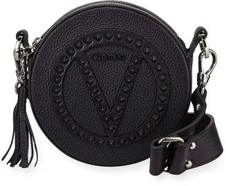 Mario Valentino Valentino By Yuki Dollaro Studs Leather Crossbody Bag