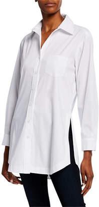 Finley Luca Button-Down Tunic Shirt