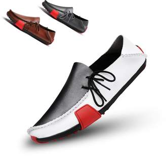 d7cad1c9c0ab9 Ceyue Men s Casual Leather Loafers Breathable Driving Shoes-9.5
