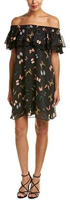 Sam Edelman Women's Off The Shoulder Ruffle Dress