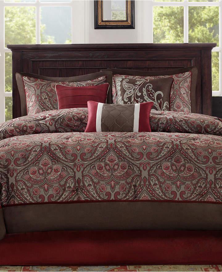 Madison Park Talbot 7-Pc. California King Comforter Set Bedding
