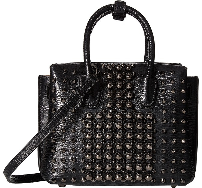 MCMMCM - Milla Pearl Studs Mini Tote Tote Handbags