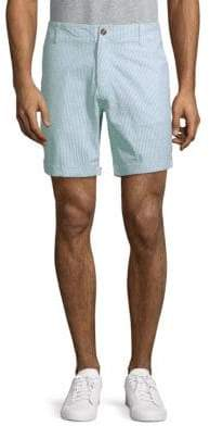 Slate & Stone Striped Cotton Shorts