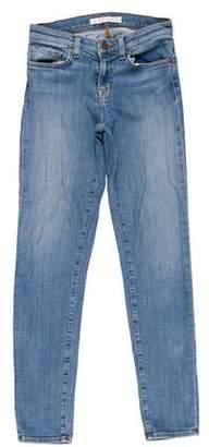 6c0d661bd24941 J Brand Light Wash Low-Rise Skinny Jeans