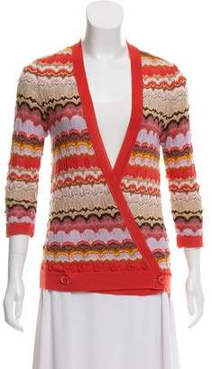 Missoni Cashmere & Silk Wrap Top