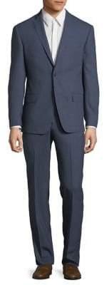 Michael Kors Slim-Fit Wool-Blend Jacket