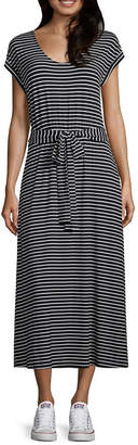 A.N.A Short Sleeve Shirt Dress - Tall