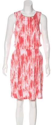 MICHAEL Michael Kors Abstract Print Knee-Length Dress