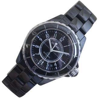 Chanel J12 H0685 Large Black Ceramic 38mm Mens Watch