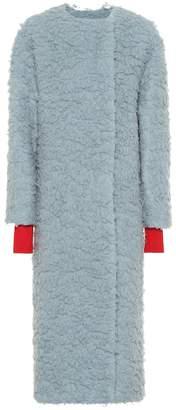 Roksanda Edine camel hair and silk coat