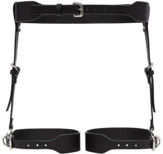 Fleet Ilya Black Classic Suspender Harness
