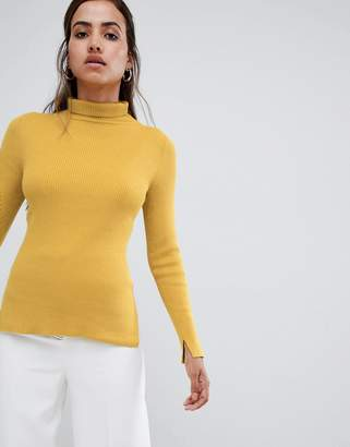 French Connection Frennch Connection Viginie High Neck Fitted Sweater