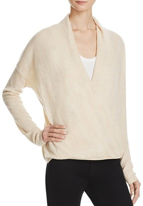Joie Lien Cashmere Crossover Sweater $328 thestylecure.com
