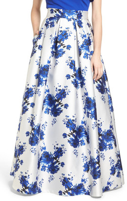 Eliza J Floral Mikado Ball Skirt $228 thestylecure.com