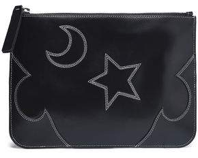 McQ Cutout Leather Pouch