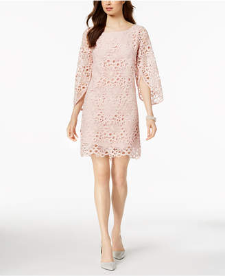 Nanette Lepore Nanette by Bell-Sleeve Lace Dress